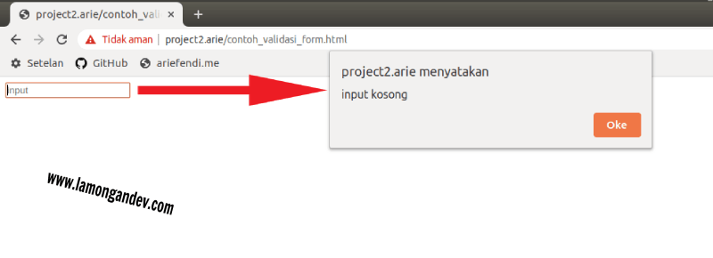 cek-input-kosong-Javascript-Keperluan-validasi-form-lamongandev.com