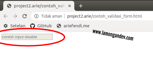 disable-input-Javascript-Keperluan-validasi-form-lamongandev.com