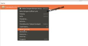 ekstrak-codeigniter-Tutorial-install-codeigniter-untuk-pemula-lamongandev.com