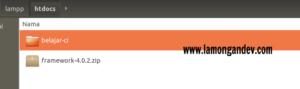 setelah-direname-folder-codeigniter-Tutorial-install-codeigniter-untuk-pemula-lamongandev.com