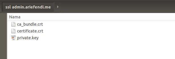 Tutorial install ssl gratis