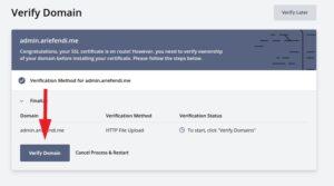 Tutorial install ssl gratis lamongandev.com